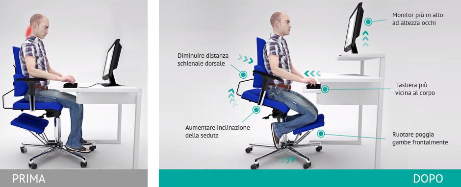 Le migliore sedia ergonomica da ufficio komfortchair for Sedia ortopedica per ufficio