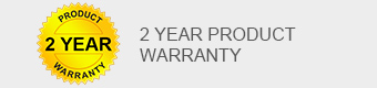 2 year product warranty