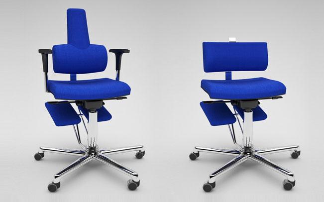Le migliore sedia ergonomica da ufficio komfortchair for Sedia ergonomica