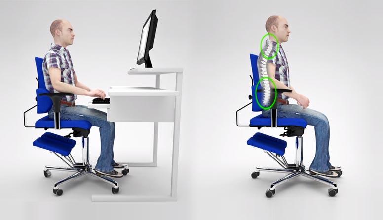 Sedia posturale ufficio